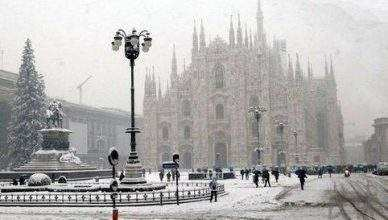 Milan in January