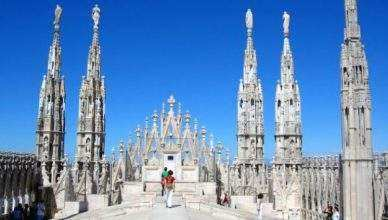 Three of the best panoramas of Milan