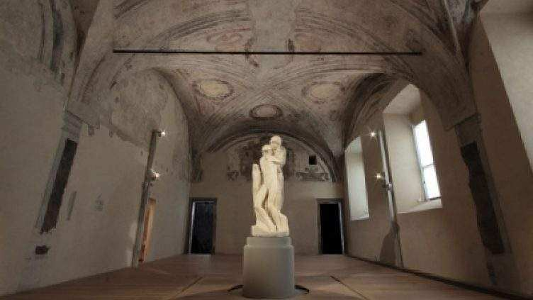 What can you see at Sforza Castle?