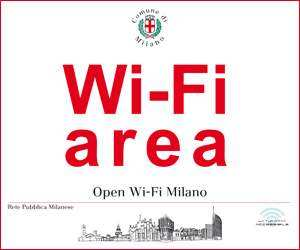 The Map of Free Wifi of Milan