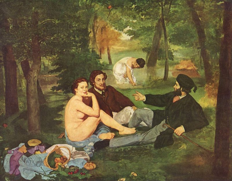 Manet and the modern Paris